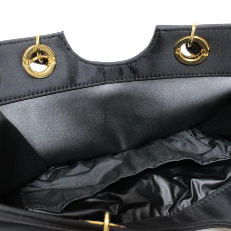 GIVENCHY ジバンシー ヴィンテージ<br>ナイロンロゴ金具スクエアハンドバッグ