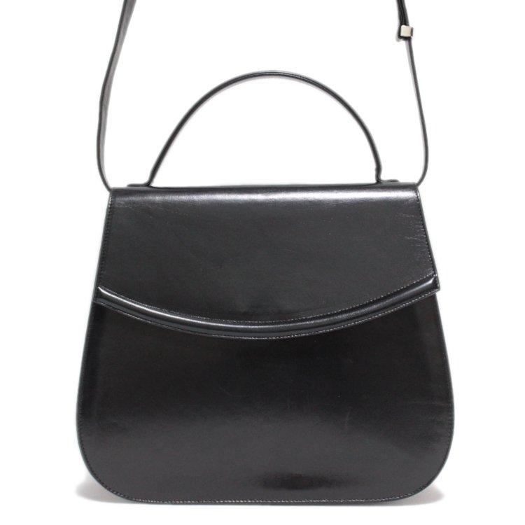 BALLY バリー ヴィンテージ<br>2WAYレザーショルダー/ハンドバッグ
