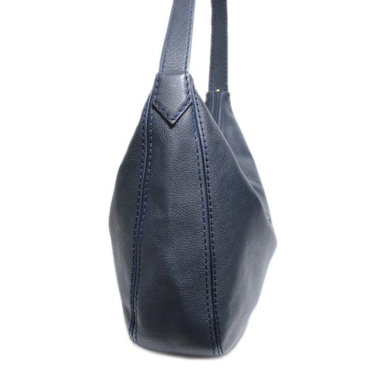 YSL イヴサンローラン ヴィンテージ<br>ロゴレザーワンショルダーバッグ