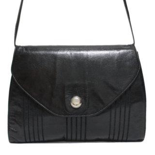 FENDI フェンディ ヴィンテージ<br>レザーショルダーバッグ