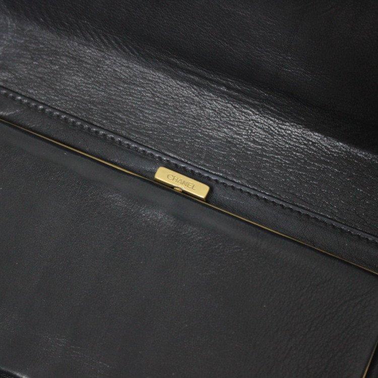 CHANEL シャネル ヴィンテージ<br>ココマークがま口三つ折り財布