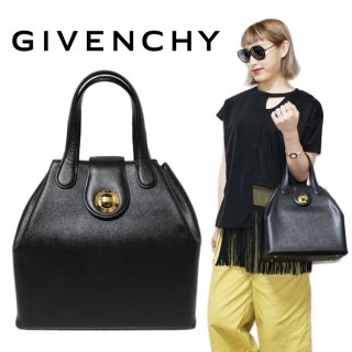 <img class='new_mark_img1' src='https://img.shop-pro.jp/img/new/icons14.gif' style='border:none;display:inline;margin:0px;padding:0px;width:auto;' />GIVENCHY ジバンシー ヴィンテージ<br>ターンロックハンドバッグ