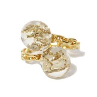 LOUIS VUITTON ルイヴィトン ヴィンテージ<br>バーグ・ヴェール・アンクルージョン・フォーン リング