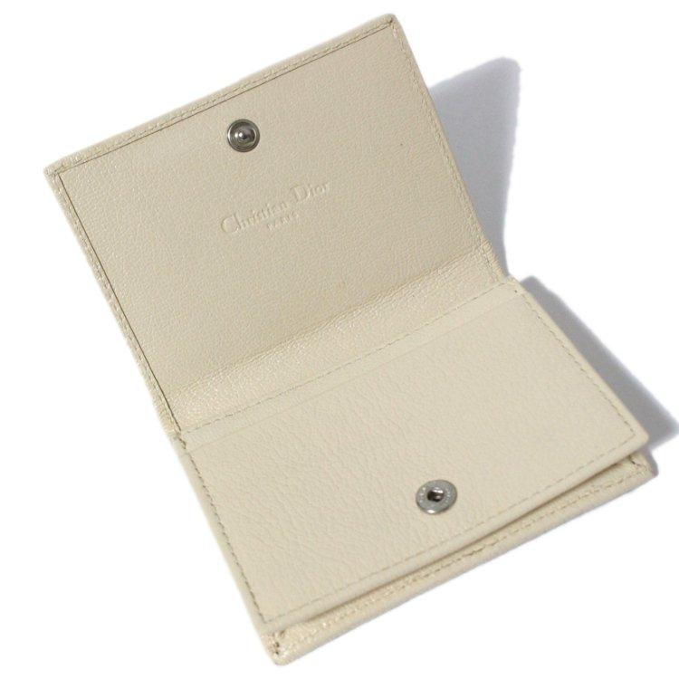 Dior ディオール ヴィンテージ<br>フラワー刺繍トロッター名刺・カードケース