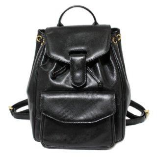 BOTTEGA VENETA ボッテガヴェネタ ヴィンテージ<br>型押しレザーリュック