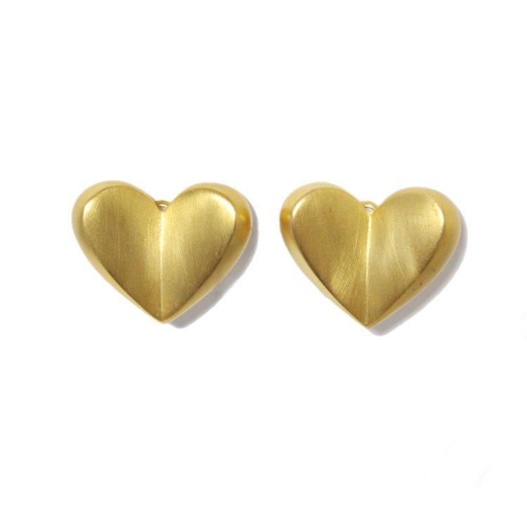 GIVENCHY ジバンシー ヴィンテージ<br>ハートモチーフイヤリング