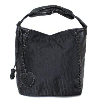 Dior ディオール ヴィンテージ<br>エスニックハートチャームトートショルダーバッグ