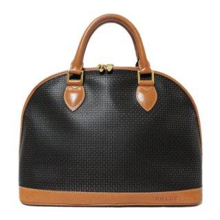 BALLY バリー ヴィンテージ<br>バイカラーボリード型ハンドバッグ