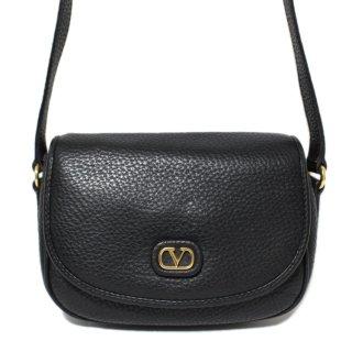 VALENTINO ヴァレンティノ ヴィンテージ<br>ロゴレザーショルダーバッグ