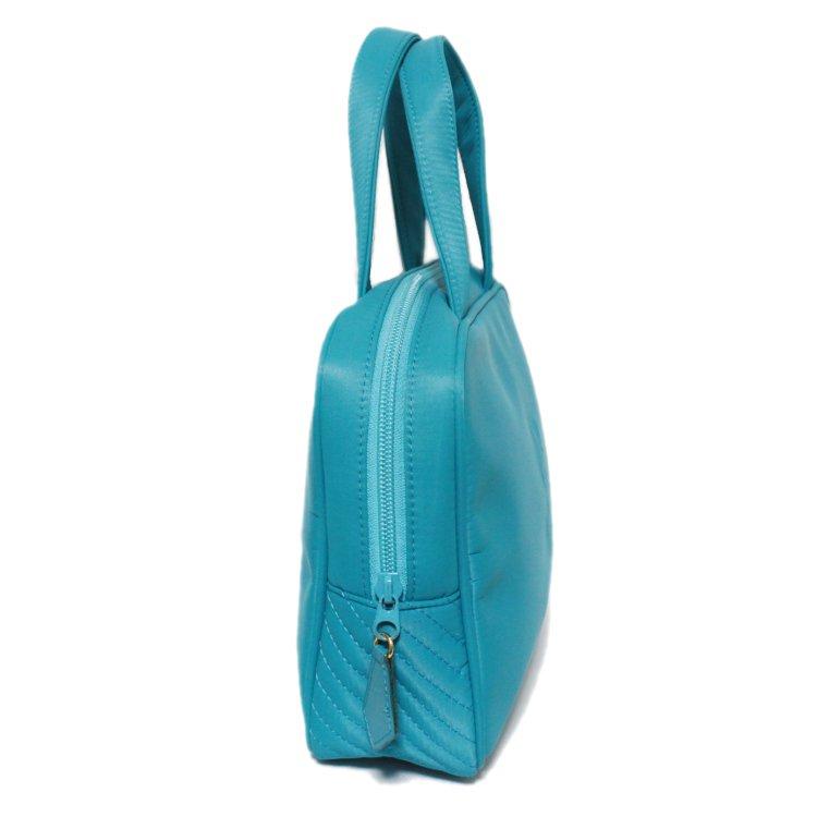 YSL イヴサンローラン ヴィンテージ<br>ナイロンエンボスロゴハンドバッグ
