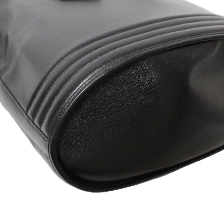 YSL イヴサンローラン ヴィンテージ<br>カーフレザー巾着ショルダーバッグ