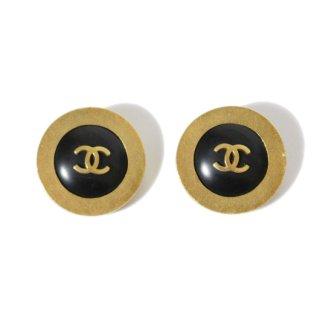CHANEL シャネル ヴィンテージ<br>90'sココマークバイカラーイヤリング
