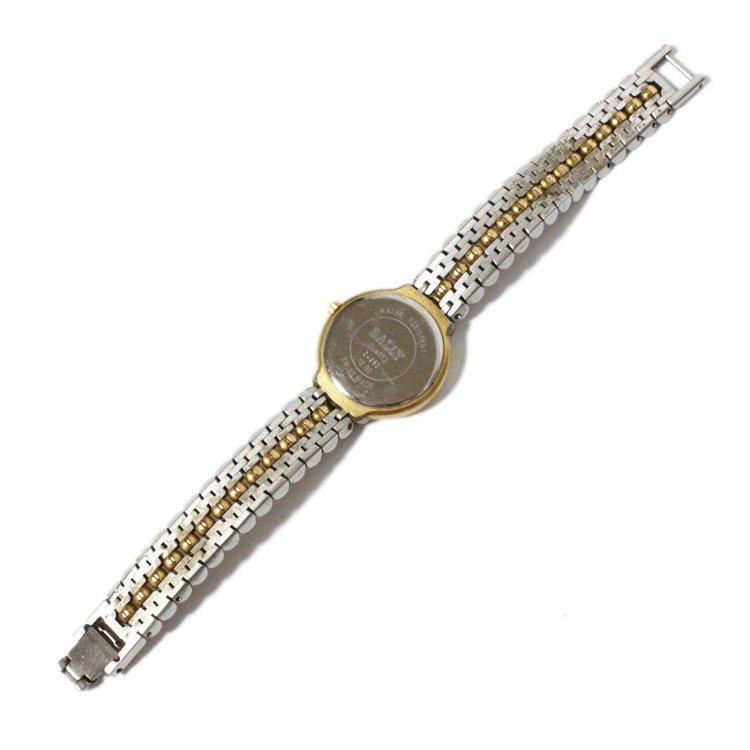BALLY バリー ヴィンテージ<br>スタッズコンビカラーQZ腕時計