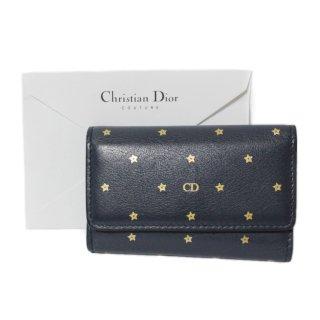 Dior ディオール ヴィンテージ<br>スターモチーフレザー6連キーケース