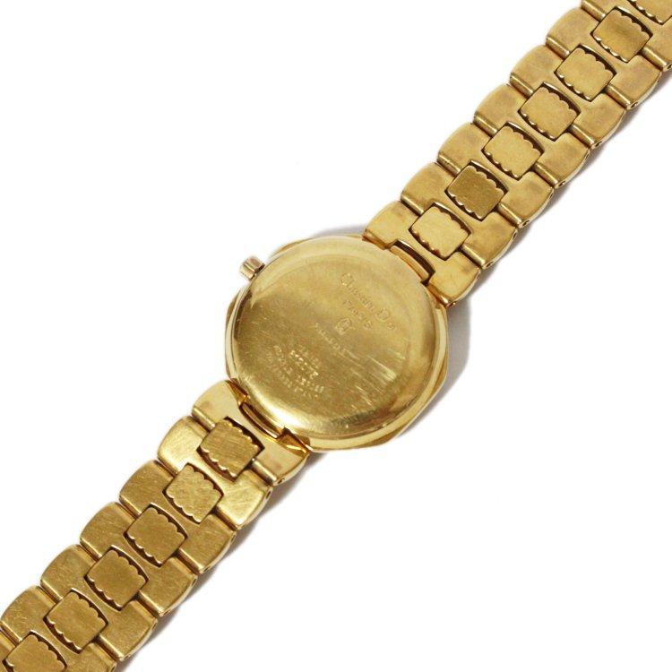 Dior ディオール ヴィンテージ<br>オクタゴンゴールドQZ腕時計