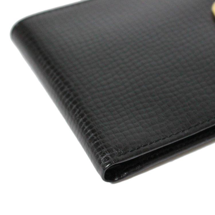 Dior ディオール ヴィンテージ<br>オバールロゴ金具レザー二つ折り財布