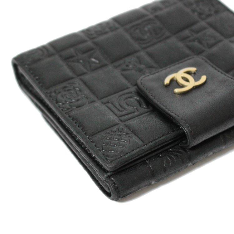 CHANEL シャネル ヴィンテージ<br>ココマークアイコン二つ折り財布