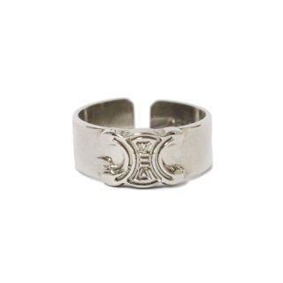 CELINE セリーヌ ヴィンテージ<br>ブラゾンシルバーリング