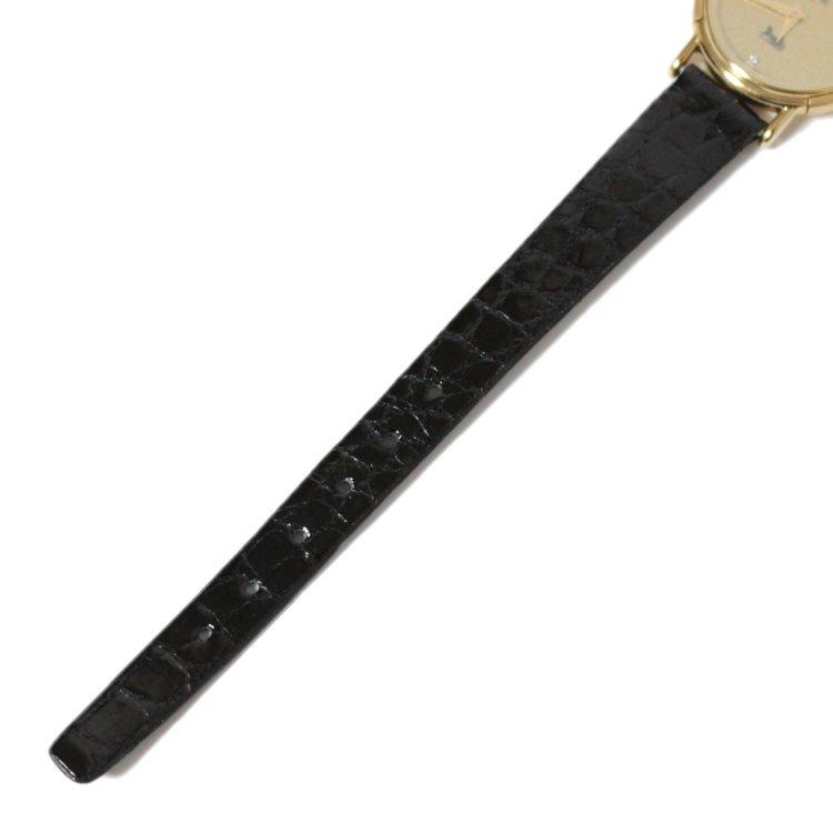 CELINE セリーヌ ヴィンテージ<br>ロゴレザーQZ腕時計