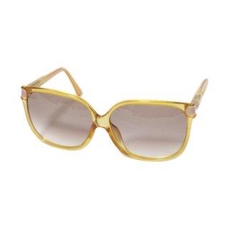 Dior ディオール ヴィンテージ<br>カラーサングラス イエロー
