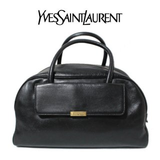 <img class='new_mark_img1' src='https://img.shop-pro.jp/img/new/icons14.gif' style='border:none;display:inline;margin:0px;padding:0px;width:auto;' />YSL イヴサンローラン ヴィンテージ<br>レザーボストンハンドバッグ