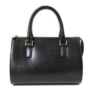 VALENTINO ヴァレンティノ ヴィンテージ<br>エピ型押しボストンハンドバッグ