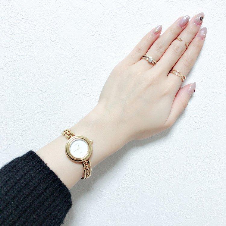 GUCCI グッチ ヴィンテージ<br>チェンジベゼルQZ腕時計 6色