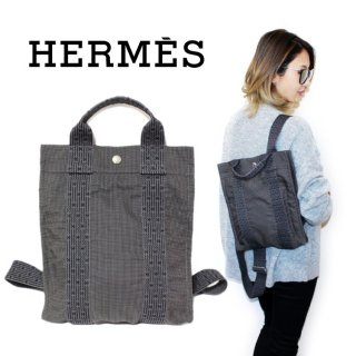 <img class='new_mark_img1' src='https://img.shop-pro.jp/img/new/icons14.gif' style='border:none;display:inline;margin:0px;padding:0px;width:auto;' />HERMES エルメス ヴィンテージ<br>エールラインリュック