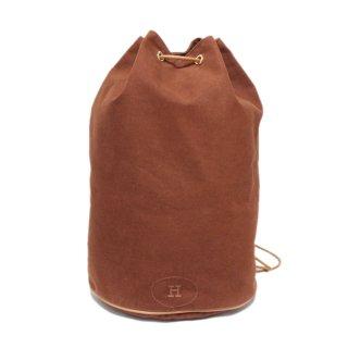HERMES エルメス ヴィンテージ<br>ポロションミミルショルダーバッグ キャメル