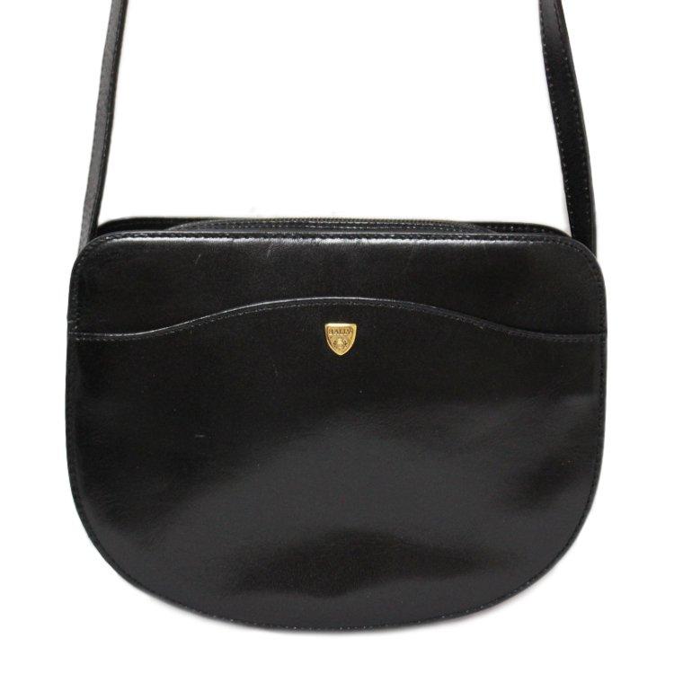 BALLY バリー ヴィンテージ<br>レザーショルダーバッグ