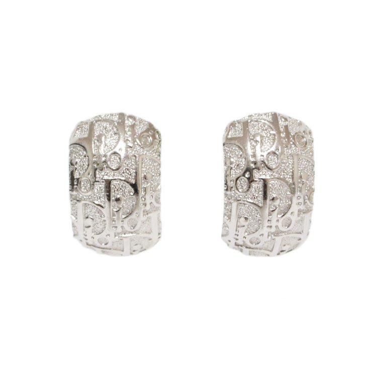 Dior ディオール ヴィンテージ<br>トロッターシルバーイヤリング
