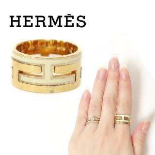 HERMES エルメス ヴィンテージ<br>ムーヴアッシュリング