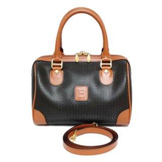 BALLY バリー ヴィンテージ<br>2WAYバイカラーミニボストンバッグ