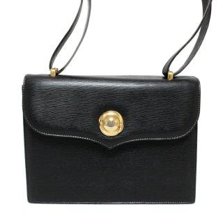 Chloe クロエ ヴィンテージ<br>ロゴレザーショルダーバッグ