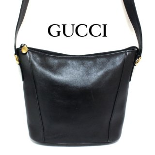<img class='new_mark_img1' src='https://img.shop-pro.jp/img/new/icons14.gif' style='border:none;display:inline;margin:0px;padding:0px;width:auto;' />GUCCI グッチ ヴィンテージ<br>レザーショルダーバッグ