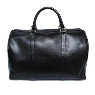 CELINE セリーヌ ヴィンテージ<br>レザーボストンバッグ ブラック
