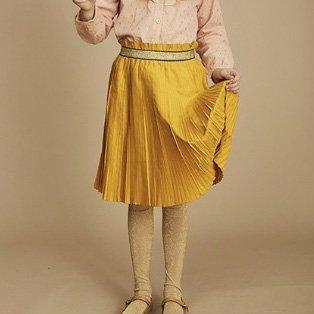 soft gallery(ソフトギャラリー)  ゴールドプリーツスカート