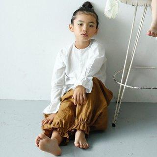 folk made サスペンダー付きサロペット(カーキ)