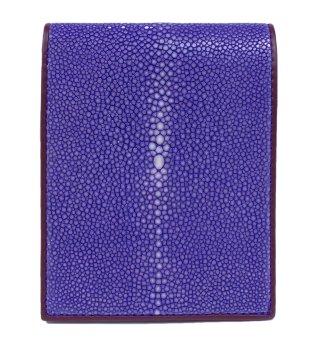 ショート 財布 ポリッシュ ライトパープル