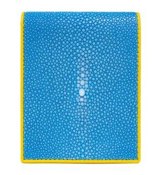 ショート 財布 (コインケースなし) ターコイズブルー