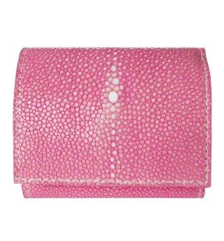 ミニ財布 ポリッシュ ピンク
