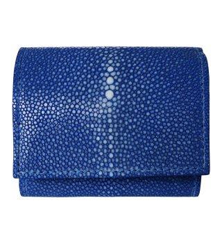 ミニ財布 ポリッシュ ブルー