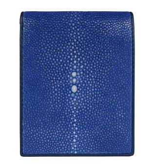 ショート 財布 (コインケースなし) ダークブルー
