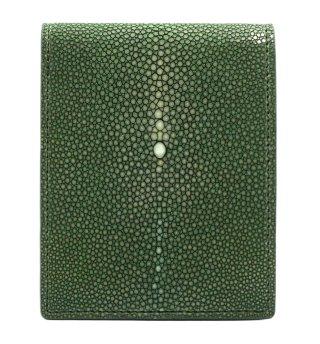ショート 財布 (コインケースあり) オリーブグリーン