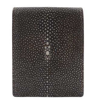 ショート 財布 (コインケースあり) ダークブラウン