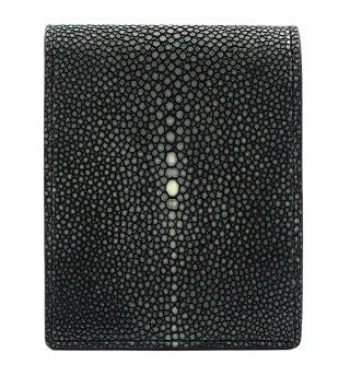 ショート 財布 (コインケースあり) ブラック