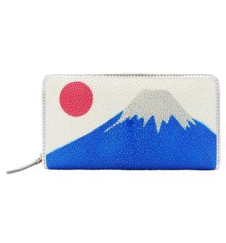 ガルーシャ 長財布 富士山