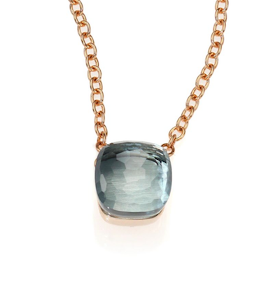 Nudo no1 nudo pendant with blue topaz mozeypictures Images