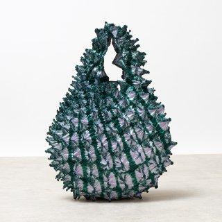 Petit bag Color No.1837(ラベンダー*ダークグリーン)