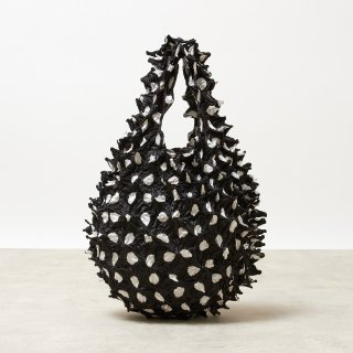 Large Dot Petit bag Color No.1860(ブラック*ホワイトDot)